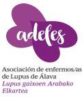 Logotipo Asociación de Enfermos/as de Lupus de Álava (ADELES-ALAVA)