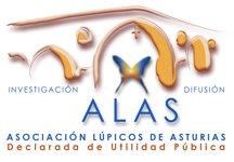 Logotipo de Asociación de Lúpicos de Asturias (ALAS)
